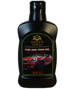 WO 1G Tire and Trim Gel - BLACK OUT